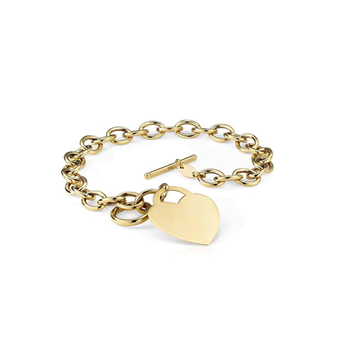 cuore toggle gold